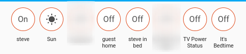 Home Assistant options in Lovelace UI