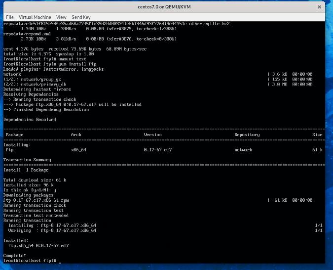Installing a CentOS homelab
