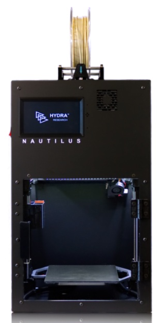 The Nautilus 3D printer by Hydra Research.