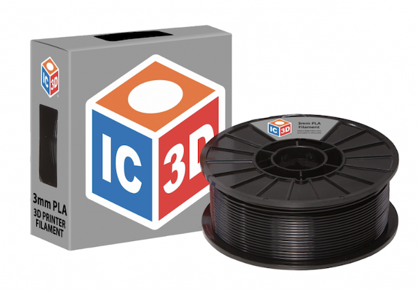 IC3D open source 3D printer filament.