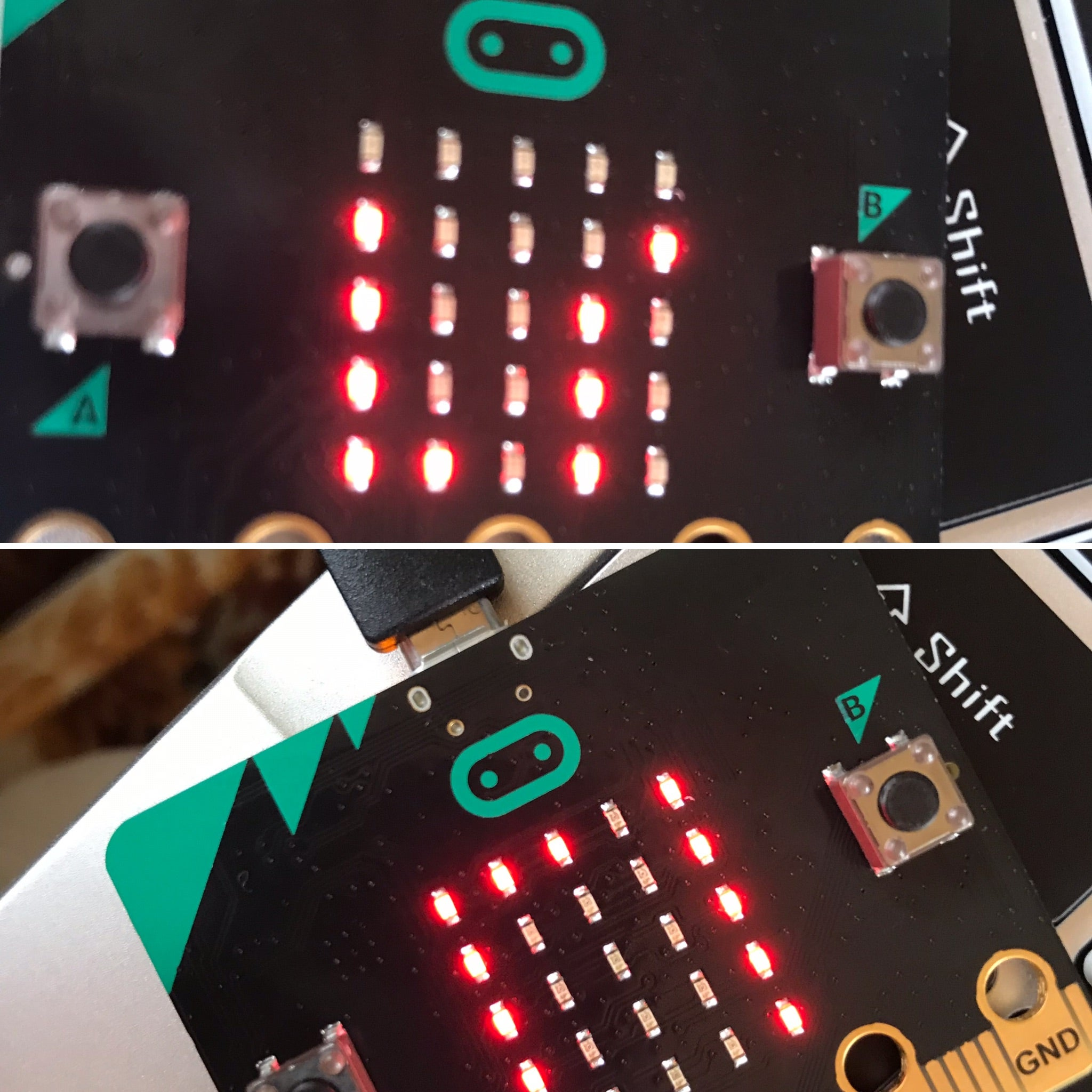 BBC Microbit board