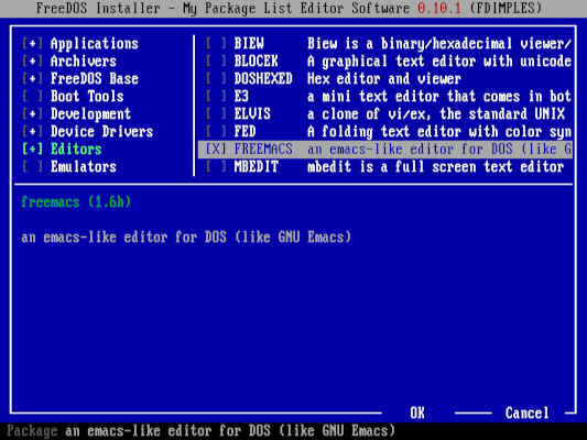 installing Freemacs