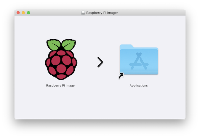 Raspberry Pi Imager installer