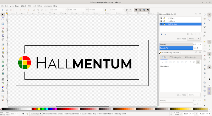 Screenshot of Hallmentum