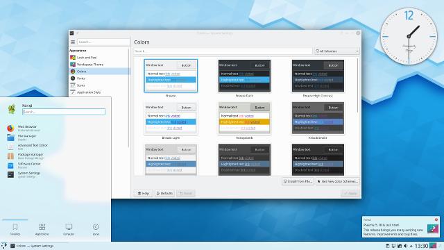 KDE 5.16 Plasma