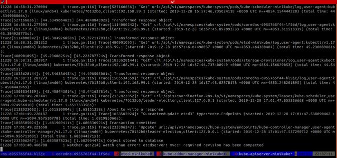 Output of kmux plugin