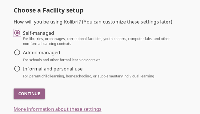 How to use Kolibri to access educational material offline