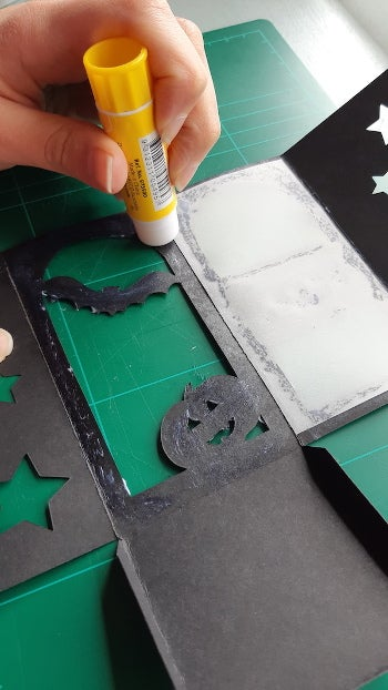 Adding tracing paper