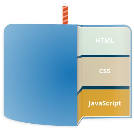 Layer cake of standard web technologies