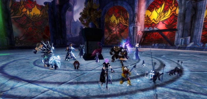 Guild Wars 2 dance party