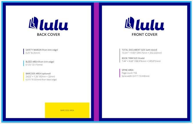 Lulu's cover template