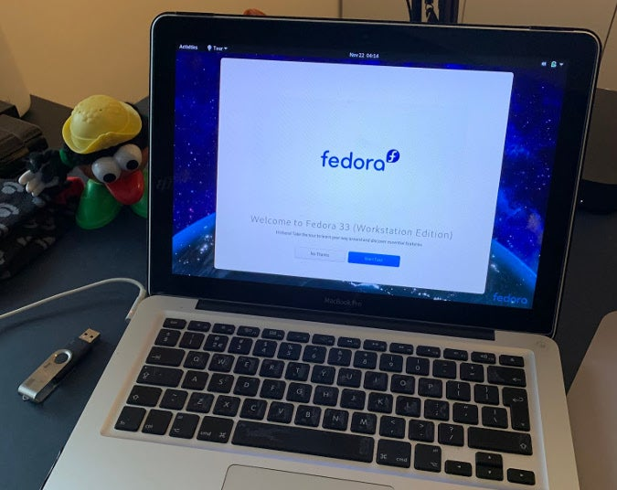 Installing Fedora on MacBook Pro