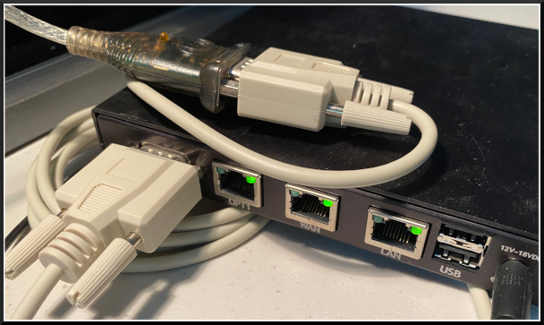 Converter and Cable connected