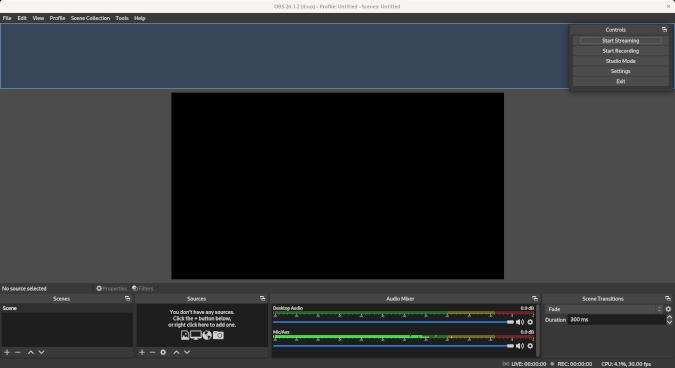 OBS Studio configuration