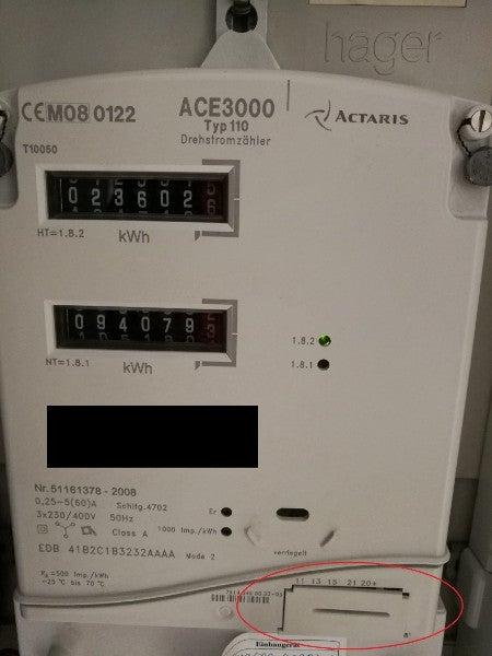 Actaris ACE3000 electricity meter
