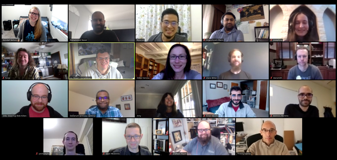 OpenStack virtual meeting