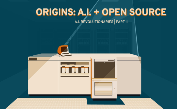 Origins of AI and open source screenshot