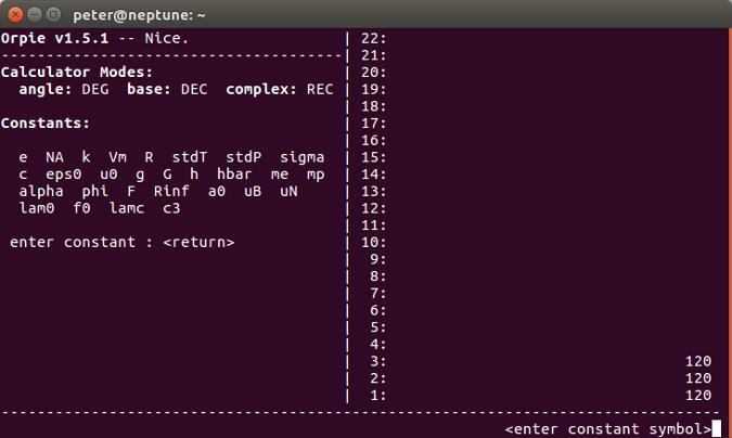 Orpie A Command Line Reverse Polish Notation Calculator Opensource Com