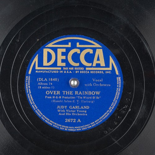"""Over the Rainbow"" by Judy Garland"