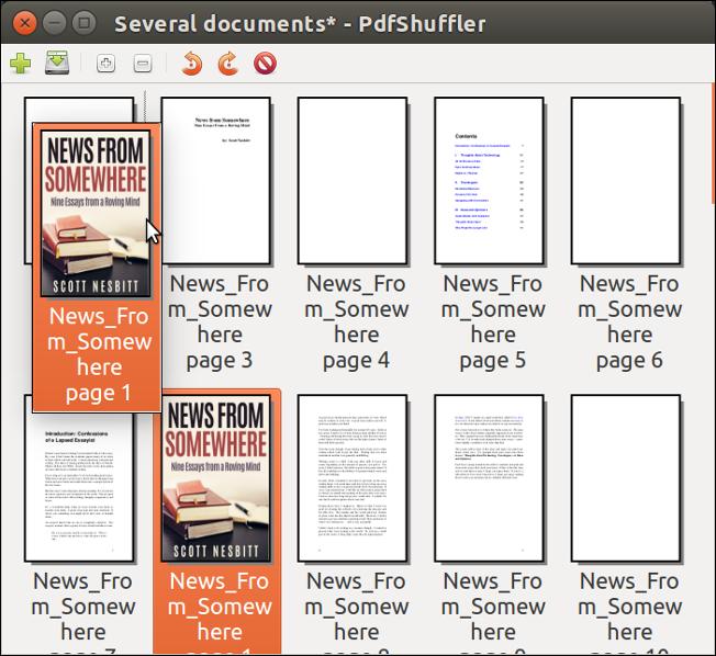 PDF-Shuffler - moving a page