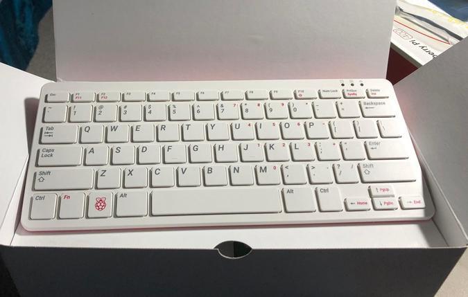 Raspberry Pi 400 keyboard