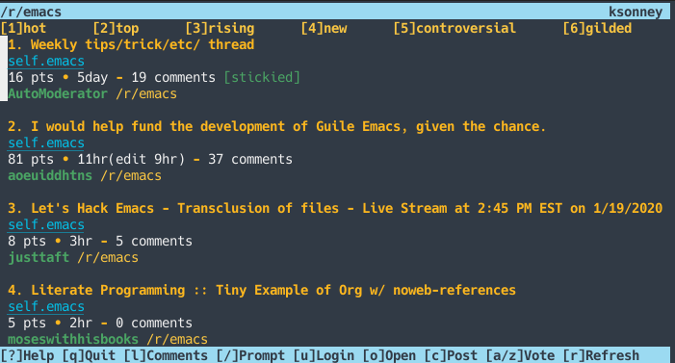 /r/emacs in Tuir