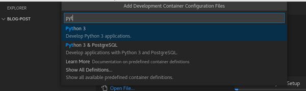 Select Python 3 definition