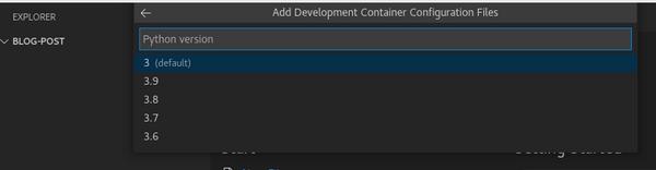 Select the 3 (default) option