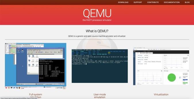 QEMU home page