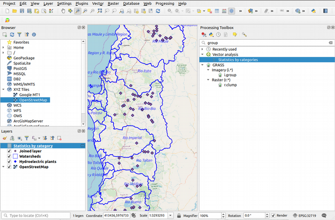 Introduction to spatial joins with QGIS | Opensource com