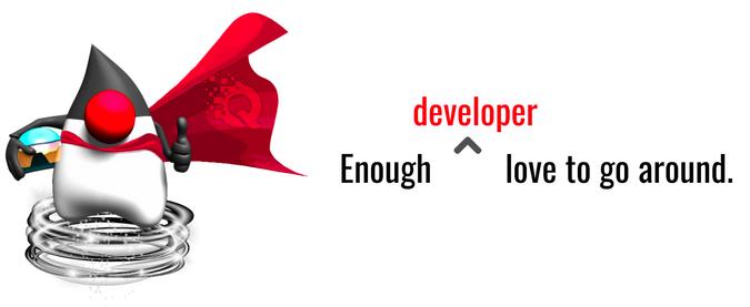 Developers love Quarkus