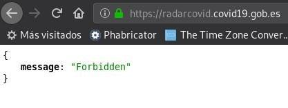 radarcovid.covid19.gob.es offline on July, 8th, 2020