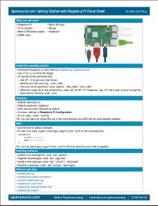 raspberry pi cheat sheet small preview