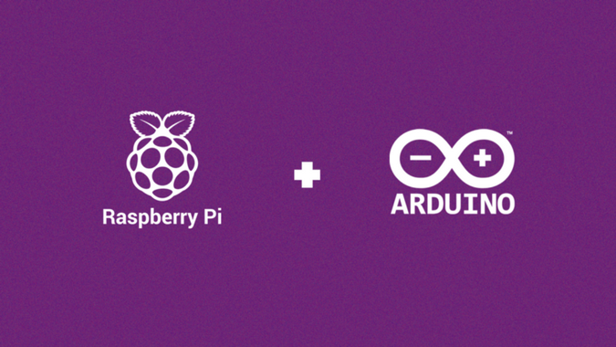 Raspberry Pi and Arduino logos