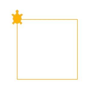Logo drawn square
