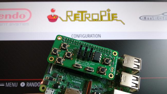 RetroPie with the Play pHAT
