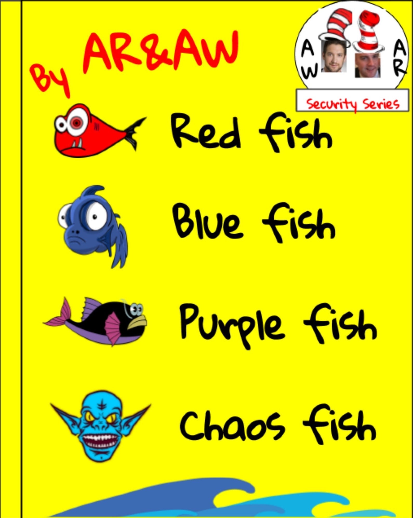 Red fish, blue fish, purple fish, chaos fish