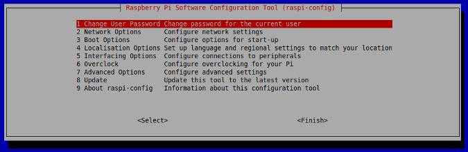 Raspberry Pi Software Configuration Tool