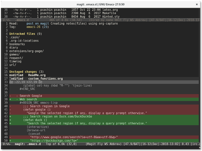 How to use Magit to manage Git projects | Opensource com