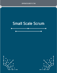 Small Scale Scrum cover