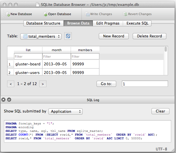DB Browser for SQLite