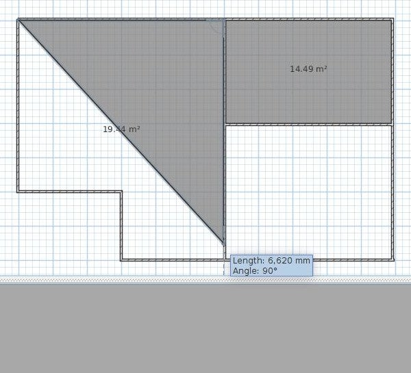 Defining rooms in Sweet Home 3D