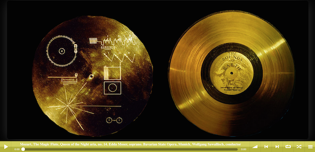 Voyager Golden Record website