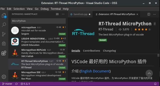 MicroPython plugin for RT-Thread