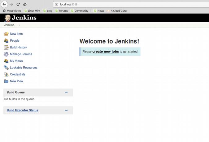 Jenkins UI