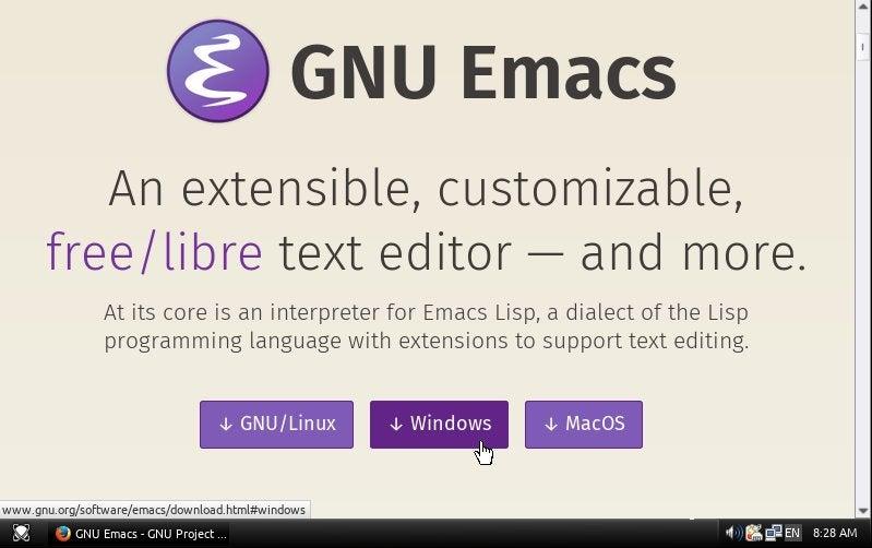 GNU Windows downloader