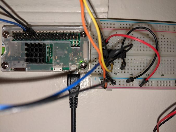 Lighting hardware wiring
