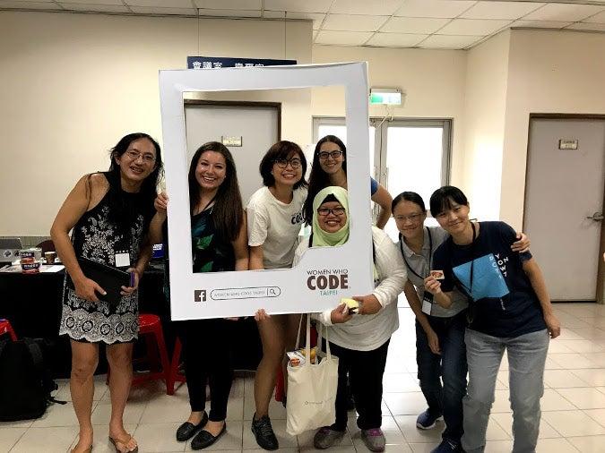 Women Who Code Taipei event
