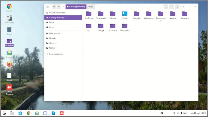 Zorin OS home folder
