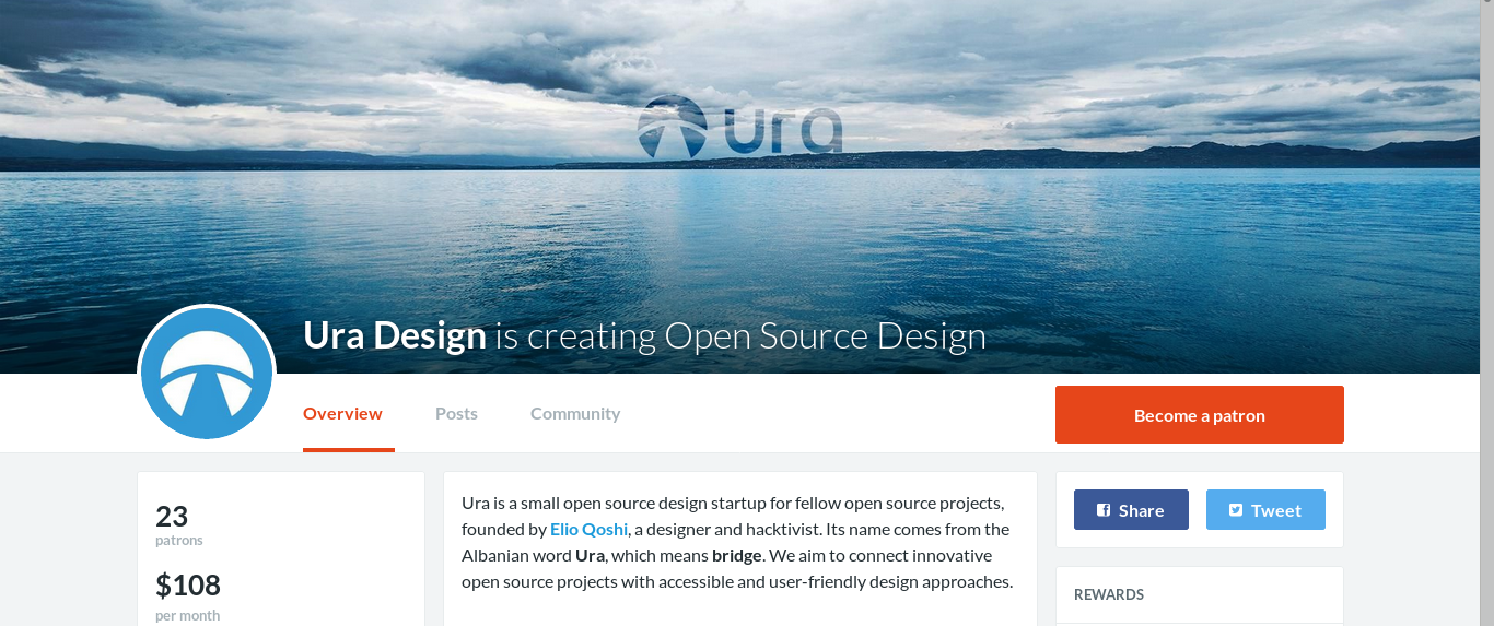 Ura Design patreon page